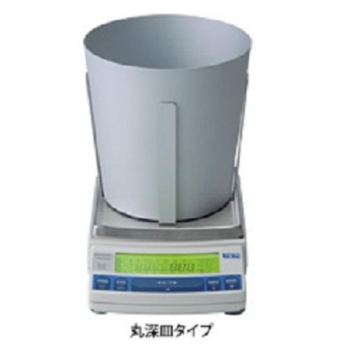 【�鞄�津製作所】動物天びんUW2200H+丸深皿校正分銅内蔵型