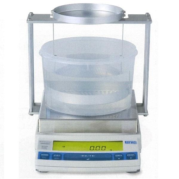 【�鞄�津製作所】比重測定装置UX6200H(大皿)+比重測定キット