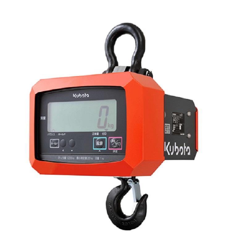 【�潟Nボタ】電子吊はかり KL-HS-Q-12-K  検定品・直示式