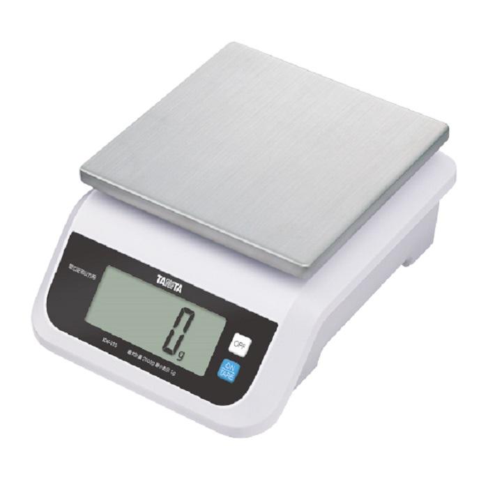 【�潟^ニタ】デジタルスケール KW-210-WH(ホワイト)  5000g  防水型・取引証明以外用