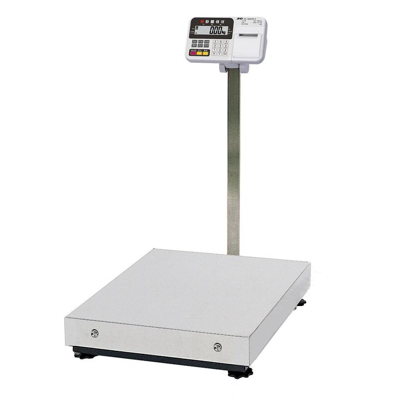 【�潟Gー・アンド・デイ】取引・証明用大型電子台はかり  HV-300KCP-K  内蔵プリンタ付