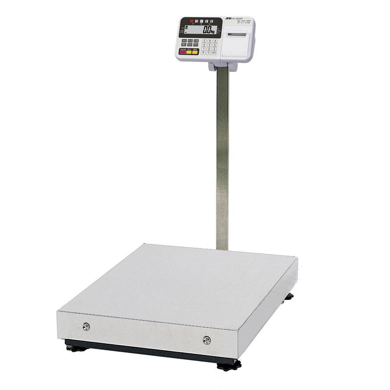 【�潟Gー・アンド・デイ】取引・証明用大型電子台はかり  HV-600KCP-K  内蔵プリンタ付