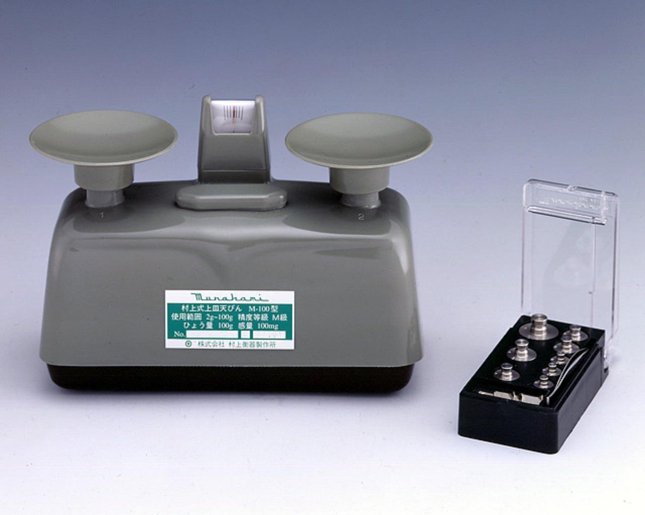 【�椛コ上衡器製作所】村上式上皿天びん M-100
