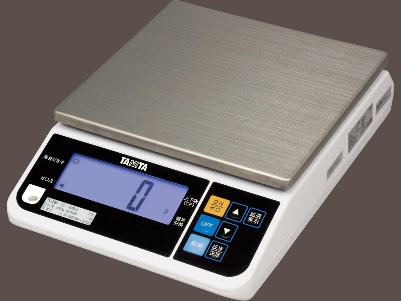 【�潟^ニタ】デジタルスケール TL-290  4000g  対面表示・RS-232Cポート付・取引証明用