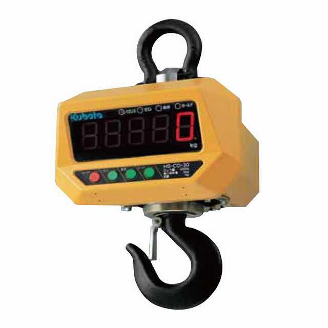 【�潟Nボタ】電子吊はかり HS-CD-30-K  検定品・直示式