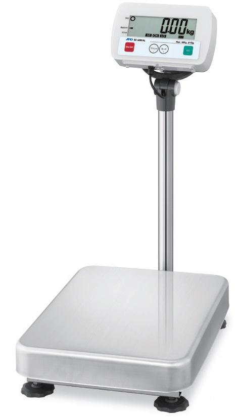 【�潟Gー・アンド・デイ】防塵・防水型電子台はかり  SC-150KAM  一体型(ポール付)