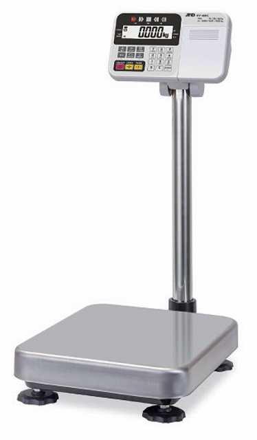 【�潟Gー・アンド・デイ】計量台のみ防塵・防水型電子台はかり  HW-60KC