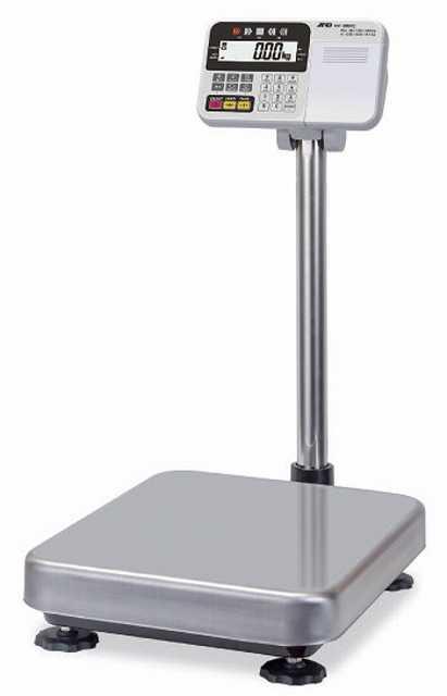 【�潟Gー・アンド・デイ】計量台のみ防塵・防水型電子台はかりHW-200KCP内蔵プリンタ付
