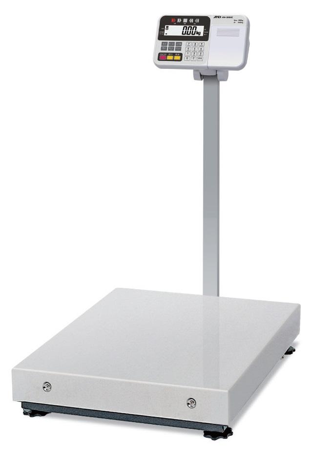 【�潟Gー・アンド・デイ】大型電子台はかりHW-600KCP内蔵プリンタ付