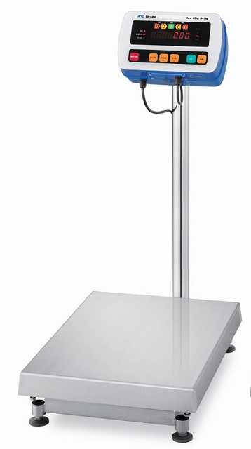 【�潟Gー・アンド・デイ】取引・証明用防塵・防水型電子台はかり  SW-60KL-K