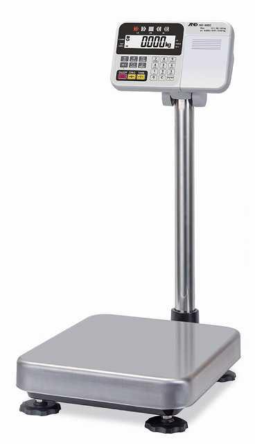 【�潟Gー・アンド・デイ】取引・証明用計量台のみ防塵・防水型電子台はかり  HV-15KCP-K  内蔵プリンタ付
