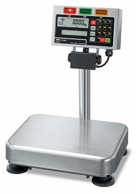 【�潟Gー・アンド・デイ】取引・証明用防塵・防水型電子台はかり  FS-30Ki-K