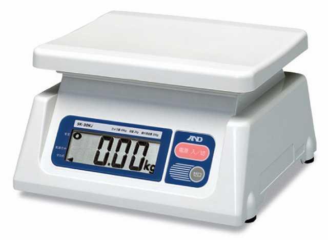 【�潟Gー・アンド・デイ】取引・証明用上皿電子はかり  SK-5000i