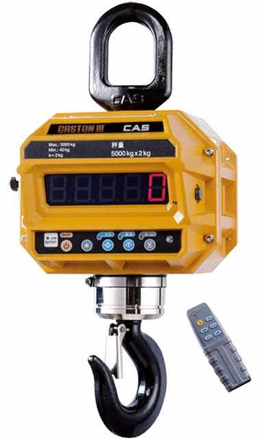 【CAS Corporation】電子式クレーンスケール  CASTON�V-5THD  検定付