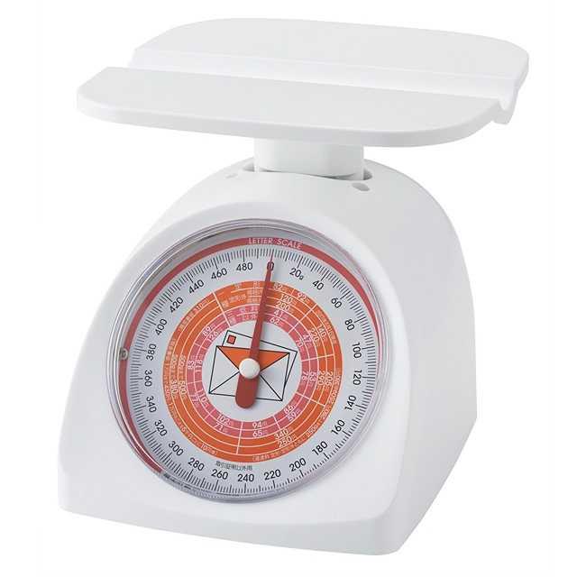 【�潟^ニタ】レタースケール 1403-WH(ホワイト)  取引証明以外用