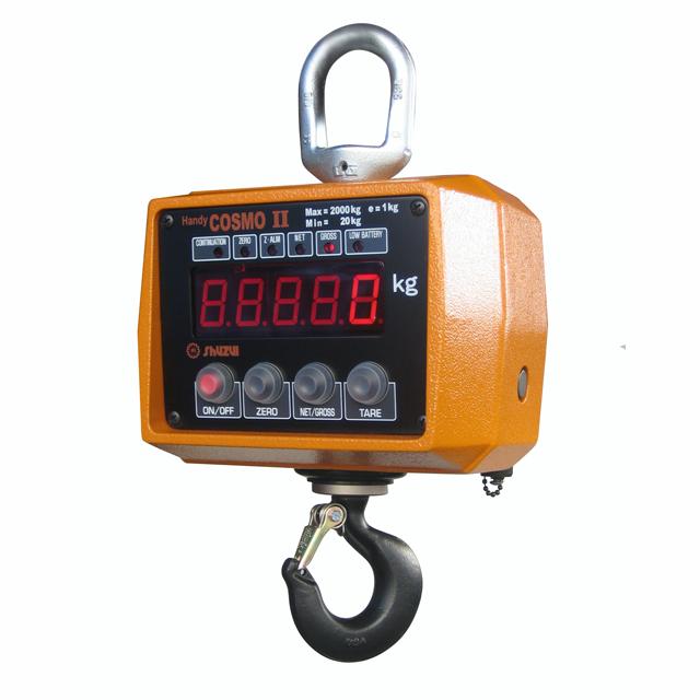 【�且鉗ャ本店】携帯型電子式吊はかり 0.5ACBP-R 防水・リモコン付き