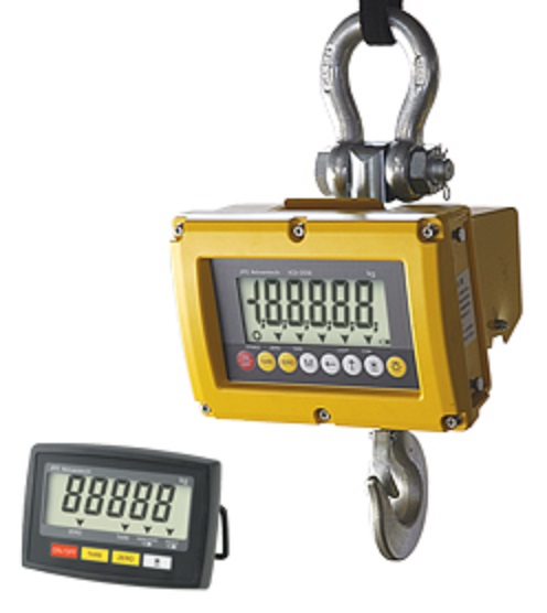 【JFEアドバンテック�梶z防水型クレーンスケール  ATHW-2MPL  取引証明用・手元表示器付・大容量バッテリ