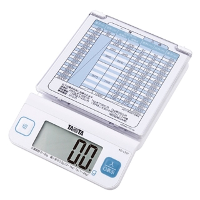 【�潟^ニタ】デジタルレタースケール KD-LT01(ホワイト)  取引証明以外用