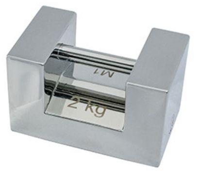 【�潟Gー・アンド・デイ】枕型校正用分銅(M1級)2kg(AD1604-2KM1)
