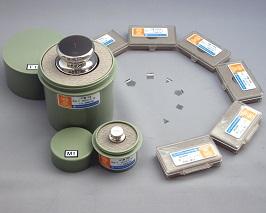 【�椛コ上衡器製作所】OIML型標準分銅:M2級1g円筒型