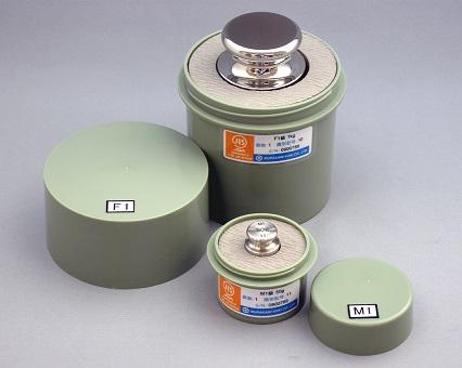 【�椛コ上衡器製作所】OIML型標準分銅(F1級)1kg・円筒型