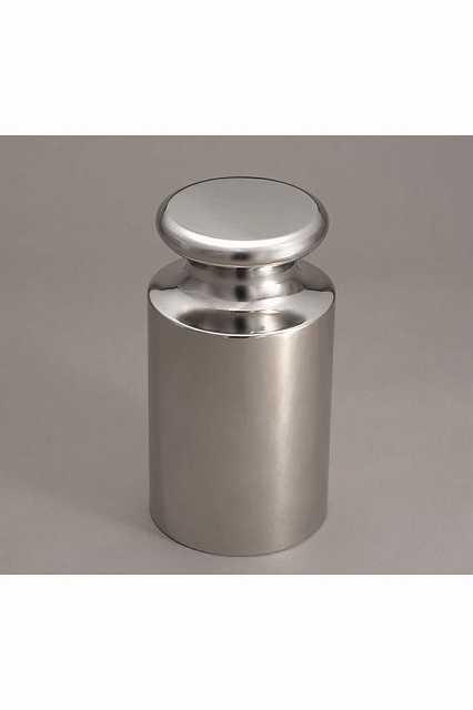 【�椛蜷ウ天びん製作所】OIML型円筒分銅:2g(非磁性ステンレス鋼製)E2級(E1CSO-2G)+JCSS校正証明書(ランク2)