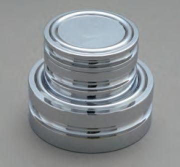 【�椛蜷ウ天びん製作所】円盤型分銅(黄銅クロムメッキ)M2級20gM2DB-20G
