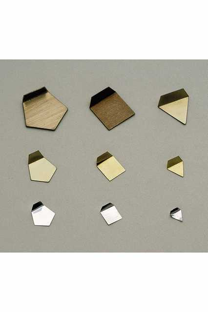 【�椛蜷ウ天びん製作所】OIML型板状分銅:100mg(非磁性ステンレス鋼製)F1級F1PSO-100M