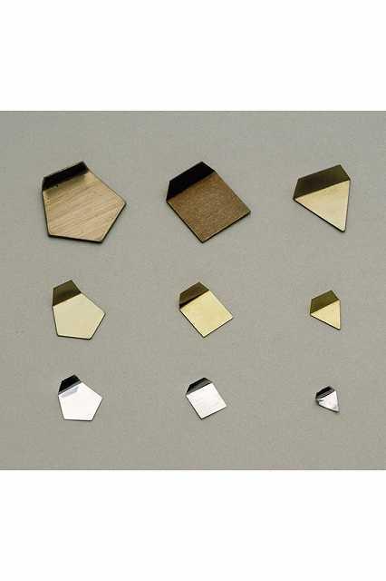 【�椛蜷ウ天びん製作所】OIML型板状分銅:5mg(非磁性ステンレス鋼製)F2級F2PSO-5M