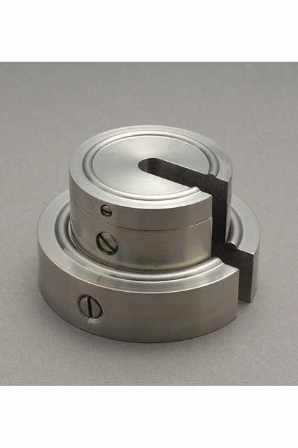 【�椛蜷ウ天びん製作所】増おもり型分銅:2kg(非磁性ステンレス鋼製)M1級(2級)M1SS-2K