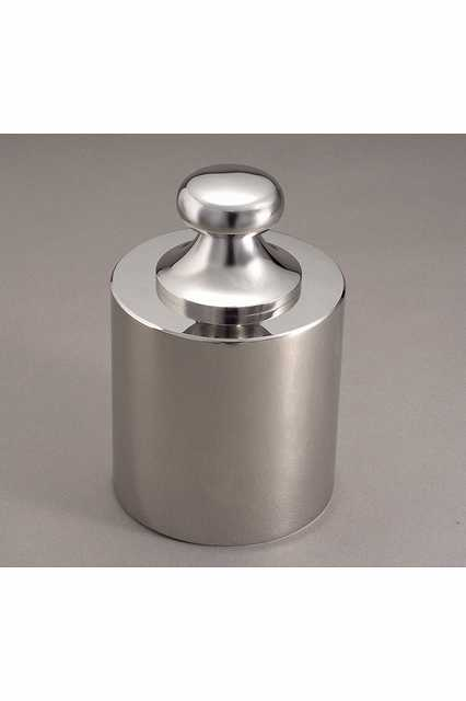【�椛蜷ウ天びん製作所】OIML型円筒分銅:2kg(JISマーク付・非磁性ステンレス鋼製)F2級(1級)F2CSO-2KJ