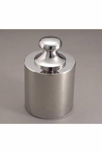 【�椛蜷ウ天びん製作所】基準分銅型円筒分銅:2kg(JISマーク付・非磁性ステンレス鋼製)F2級(1級)F2CSB-2KJ