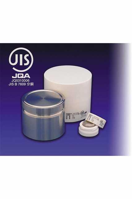 【�椛蜷ウ天びん製作所】円盤型分銅:M1級1kg・JISマーク付M1DS-1KJ