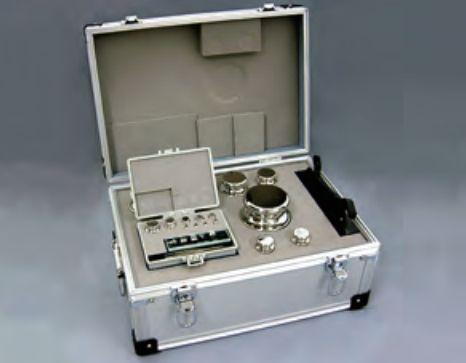 【�椛コ上衡器製作所】OIML型標準分銅セット:E2級合計6kg