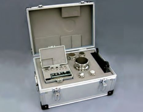 【�椛コ上衡器製作所】OIML型標準分銅セット:F1級合計20kg