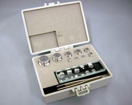 【�椛コ上衡器製作所】OIML型標準分銅セット:E2級合計100g