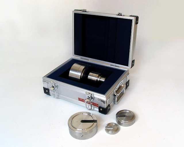 【�椛コ上衡器製作所】増おもり型基準分銅セット:2級計6kg+基準器検査成績書付(有効期間5年)