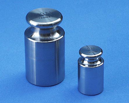 【�椛コ上衡器製作所】円筒(OIML)型ニュートン分銅:5N