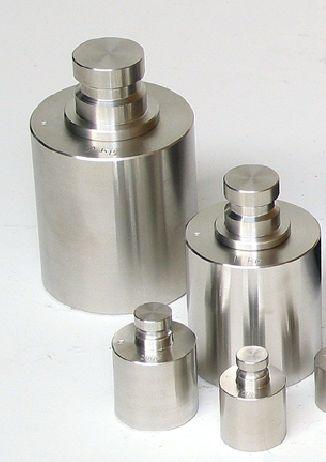 【�椛コ上衡器製作所】円筒型精密分銅:2kg・国家検定付