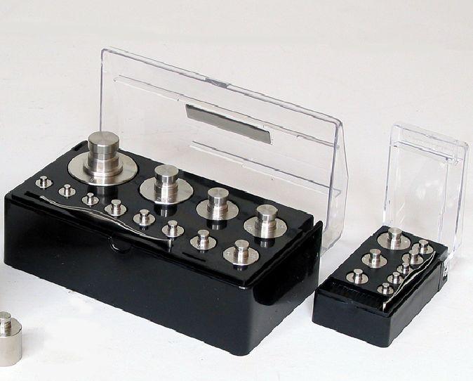 【�椛コ上衡器製作所】精密分銅セット:計2kg上皿天びんHS-2用