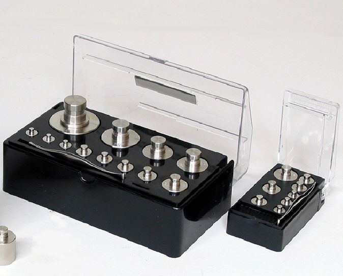 【�椛コ上衡器製作所】精密分銅セット:計1kg上皿天びんHS-1用