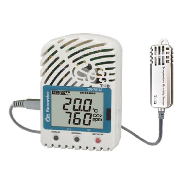 【(株)ティアンドデイ】USB接続温湿度データロガー TR-76Ui-S:高精度