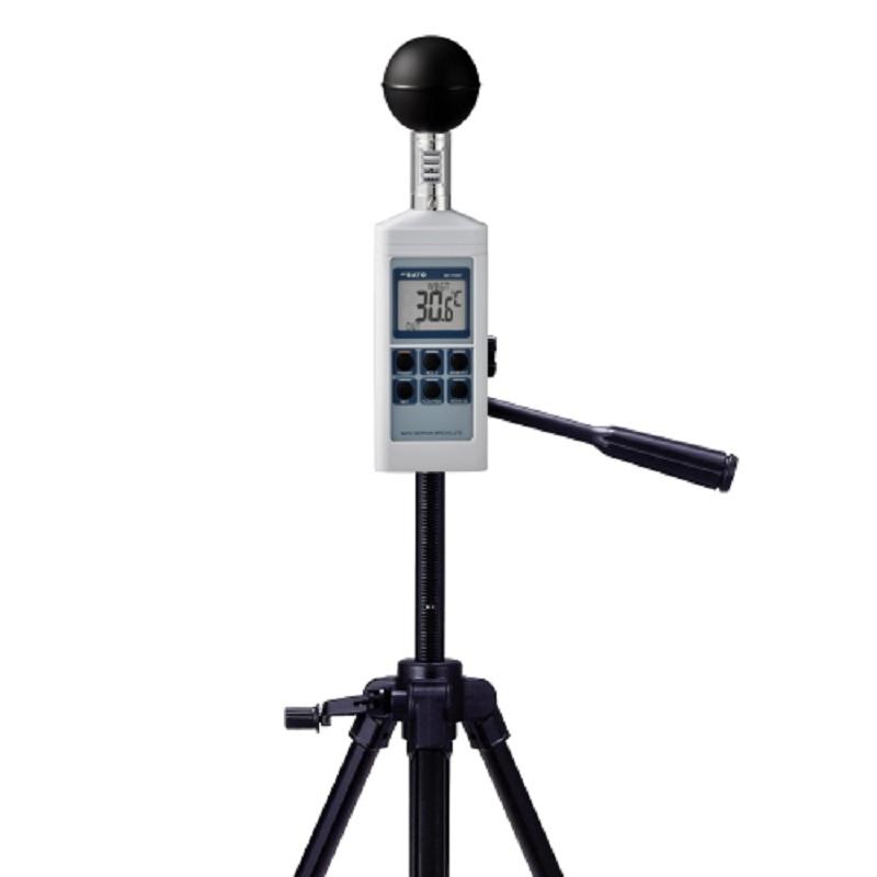 【(株)佐藤計量器製作所】黒球型携帯熱中症計SK-170GT+三脚M45