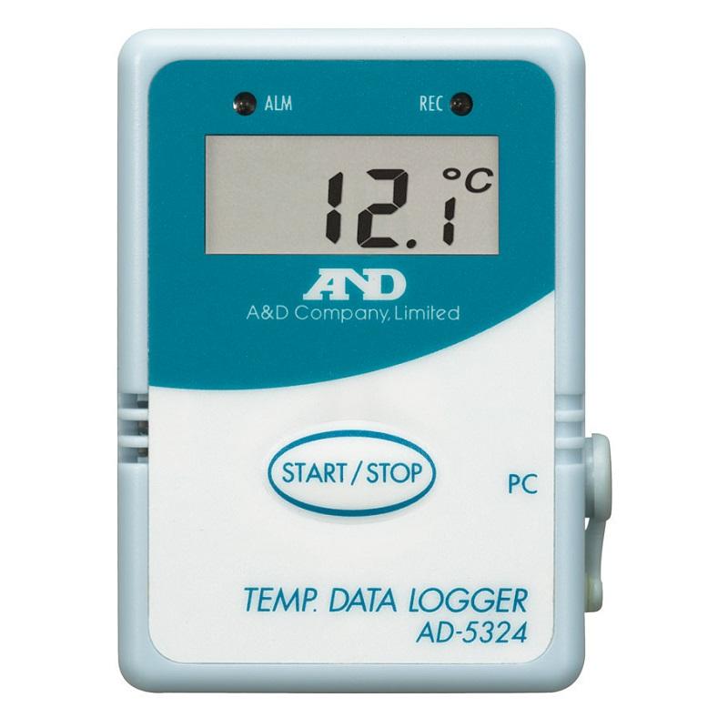 【�潟Gー・アンド・デイ】温度データロガー  AD-5324:4000メモリ