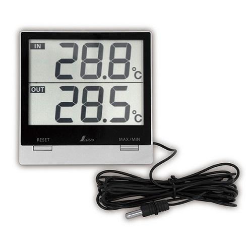 【シンワ測定�梶z73118:デジタル温度計  Smart C  最高/最低・室内/室外 防水外部センサ