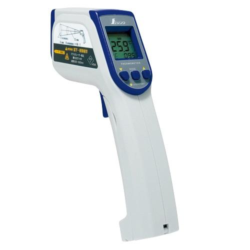 【シンワ測定�梶z73014:放射温度計C  レーザーポイント機能付放射率可変タイプ