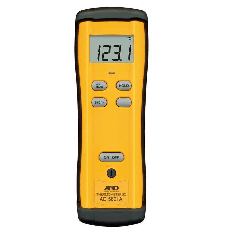 【�潟Gー・アンド・デイ】K熱電対温度計  AD-5601A:センサ1チャンネル