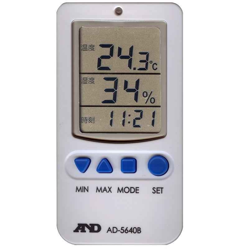 【�潟Gー・アンド・デイ】温湿度計  AD-5640B