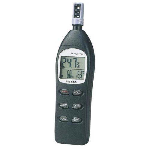 【(株)佐藤計量器製作所】デジタル温湿度計  SK-120TRH