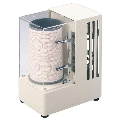 【(株)佐藤計量器製作所】シグマミニキューブ温湿度記録計:クォーツ式